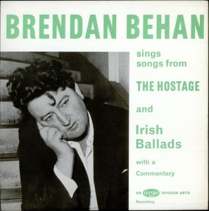 Brendan+Behan+-+Songs+From+'The+Hostage'+And+Irish+Ballads+-+LP+RECORD-cover
